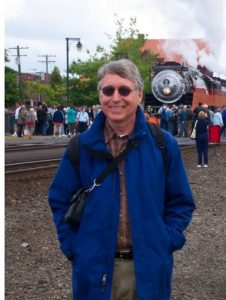 David loved trains, and volunteered every week at the Centennial Amtrak station in Lacey, Washington