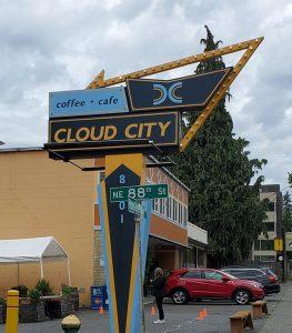 Cloud City Coffee Shop, Maple Leaf, Seattle