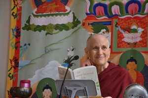 "Ven. Thubten Chodron gives the Sharing the Dharma Day talk based on her book, ""An Open-hearted Life."""